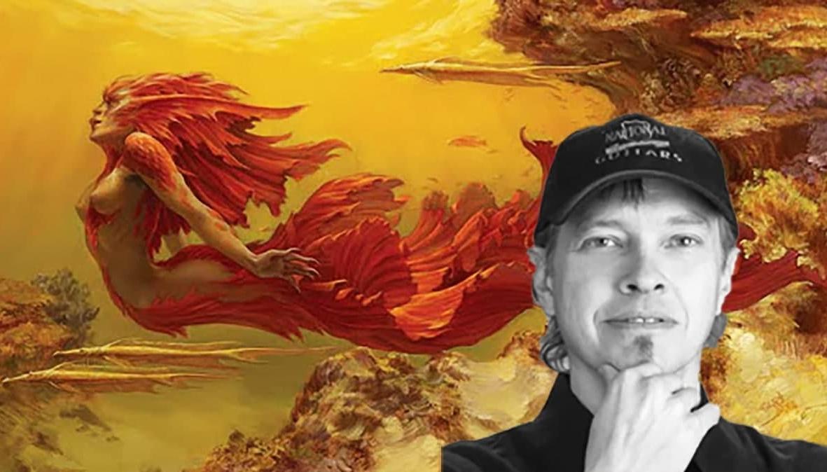 Не стало американского скульптора и художника Стивена Хикмэна poster image
